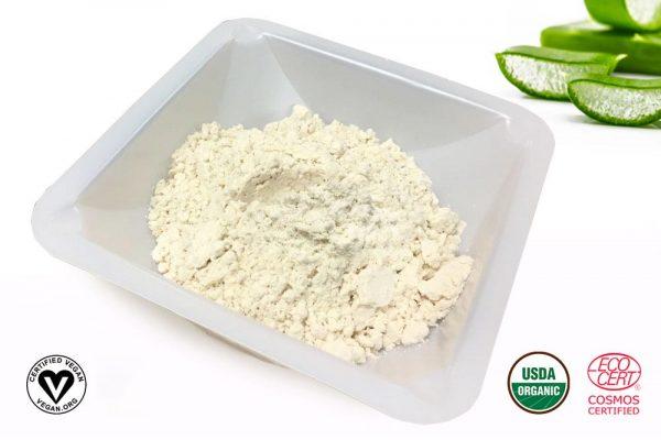 Aloe Vera Gel Spray Dried Powder 200X Enhanced Organic